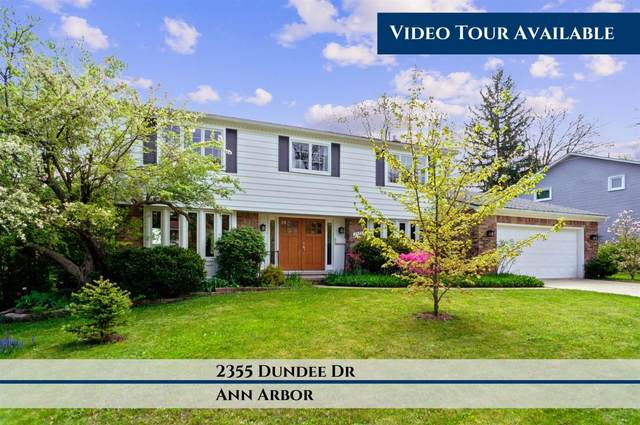 2355 Dundee Drive, Ann Arbor, MI 48103 (MLS #3274382) :: The Toth Team