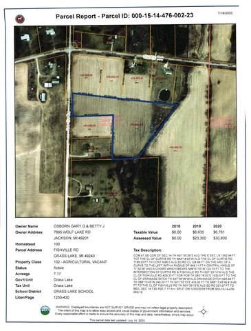 0 Fishville Parcel B Road, Grass Lake, MI 49240 (MLS #3275032) :: Berkshire Hathaway HomeServices Snyder & Company, Realtors®