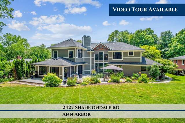 2427 Shannondale Road, Ann Arbor, MI 48104 (MLS #3275172) :: Berkshire Hathaway HomeServices Snyder & Company, Realtors®