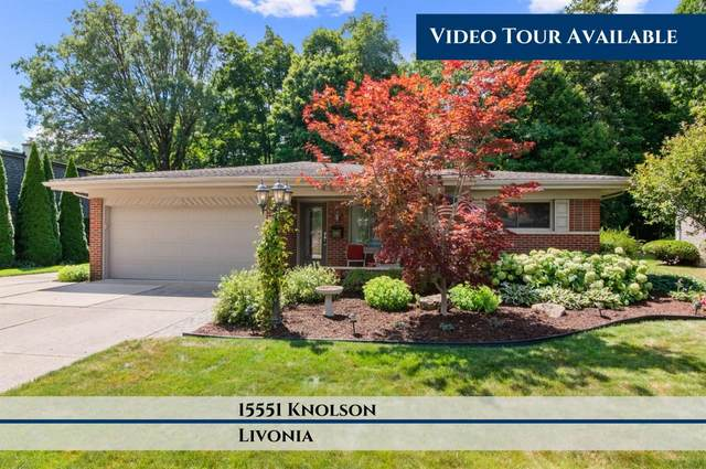 15551 Knolson Street, Livonia, MI 48154 (MLS #3275190) :: The Toth Team