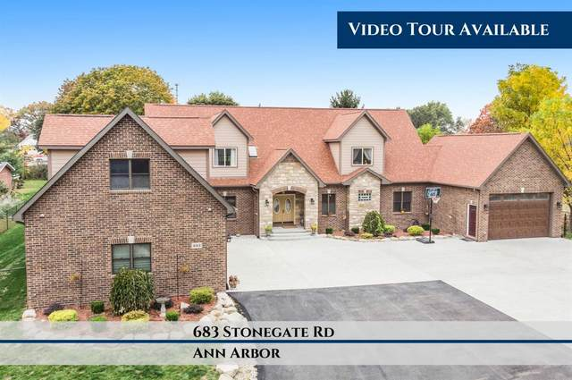 683 Stonegate Road, Ann Arbor, MI 48103 (MLS #3278349) :: Berkshire Hathaway HomeServices Snyder & Company, Realtors®