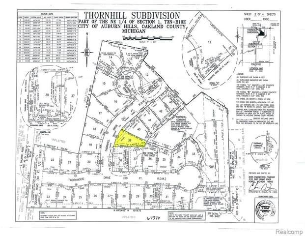 4430 Thornhill Drive, Auburn Hills, MI 48326 (MLS #R219035337) :: Berkshire Hathaway HomeServices Snyder & Company, Realtors®