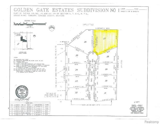 0 Forest Gate, Grand Blanc, MI 48439 (MLS #R2200041524) :: Berkshire Hathaway HomeServices Snyder & Company, Realtors®
