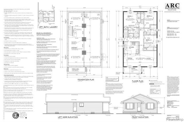 21284 Sharkey Street, Clinton, MI 48035 (MLS #R2200093163) :: Berkshire Hathaway HomeServices Snyder & Company, Realtors®