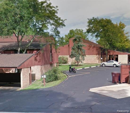 1815 Independence Boulevard 29C, Ann Arbor, MI 48104 (MLS #R2210012452) :: Berkshire Hathaway HomeServices Snyder & Company, Realtors®