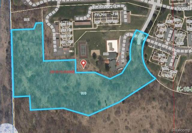 0 Roundtree Boulevard, Ypsilanti, MI 48197 (MLS #R2210022323) :: Berkshire Hathaway HomeServices Snyder & Company, Realtors®