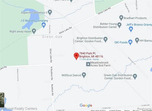 7840 Park Pl, Brighton, MI 48116 (MLS #R2210029596) :: Berkshire Hathaway HomeServices Snyder & Company, Realtors®