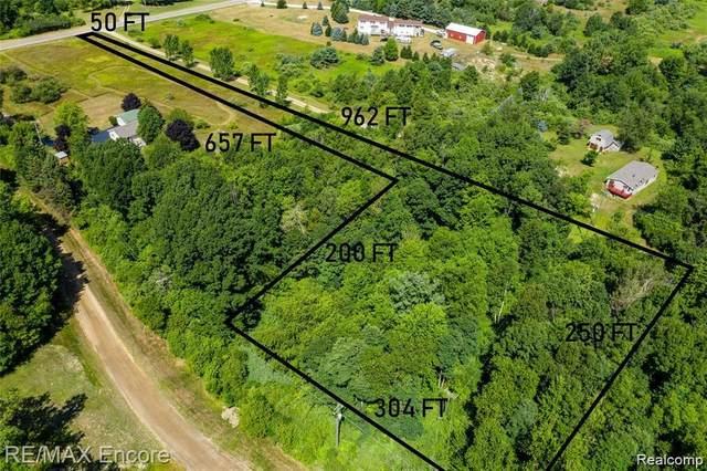 0 N Lake Pleasant Road, Attica, MI 48412 (MLS #R2210031424) :: Berkshire Hathaway HomeServices Snyder & Company, Realtors®