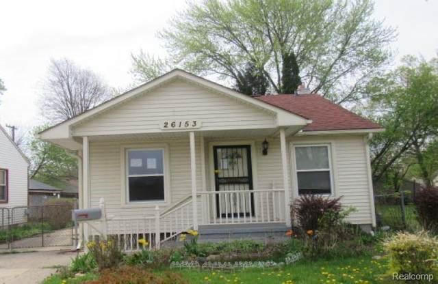 26153 Annapolis Street, Dearborn Heights, MI 48125 (MLS #R2210031458) :: Berkshire Hathaway HomeServices Snyder & Company, Realtors®