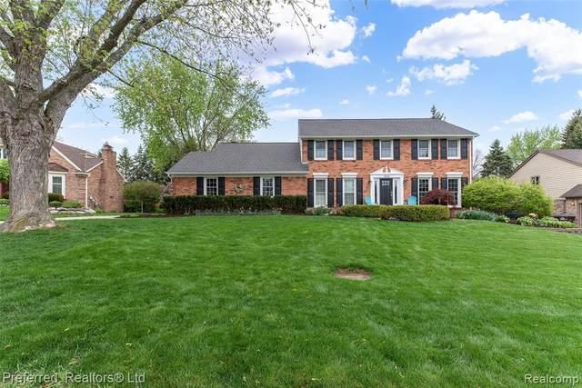 46066 Greenridge Drive, Northville, MI 48167 (MLS #R2210031257) :: Berkshire Hathaway HomeServices Snyder & Company, Realtors®