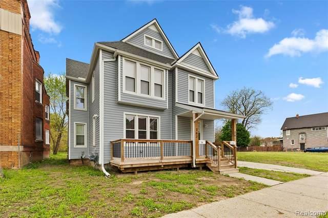 263 Marston Street, Detroit, MI 48202 (MLS #R2210032649) :: Berkshire Hathaway HomeServices Snyder & Company, Realtors®