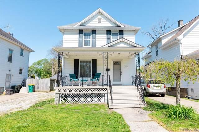 307 Riverview Avenue, Monroe, MI 48162 (MLS #R2210030190) :: Berkshire Hathaway HomeServices Snyder & Company, Realtors®