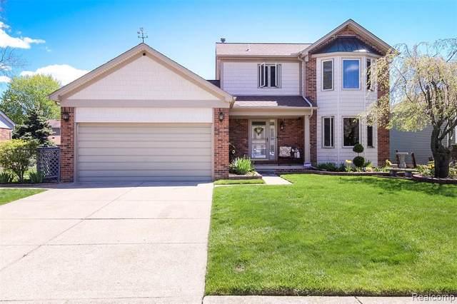 51742 Deborah Circle, Chesterfield, MI 48047 (MLS #R2210035538) :: Berkshire Hathaway HomeServices Snyder & Company, Realtors®