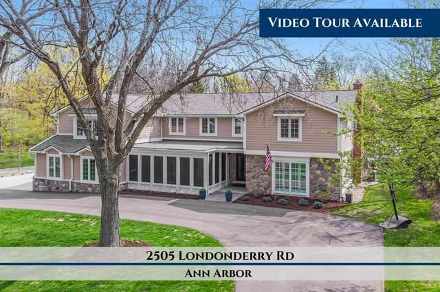 2505 Londonderry Road, Ann Arbor, MI 48104 (MLS #3280970) :: Berkshire Hathaway HomeServices Snyder & Company, Realtors®