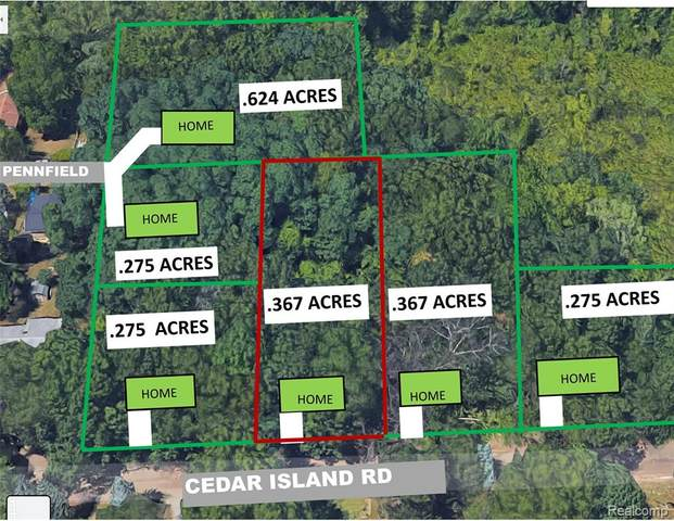 0 Cedar Island Rd, White Lake, MI 48386 (MLS #R2210035717) :: Berkshire Hathaway HomeServices Snyder & Company, Realtors®