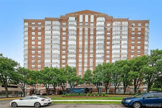 250 E Harbortown Drive #608, Detroit, MI 48207 (MLS #R2210042758) :: Berkshire Hathaway HomeServices Snyder & Company, Realtors®