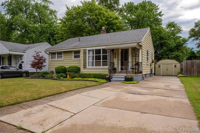 23080 Rosewood Street, Oak Park, MI 48237 (MLS #R2210046204) :: Berkshire Hathaway HomeServices Snyder & Company, Realtors®