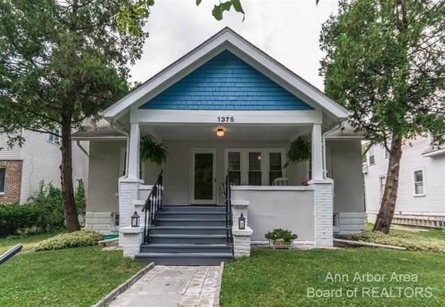 1375 Rosewood Street, Ann Arbor, MI 48104 (MLS #3281804) :: Berkshire Hathaway HomeServices Snyder & Company, Realtors®