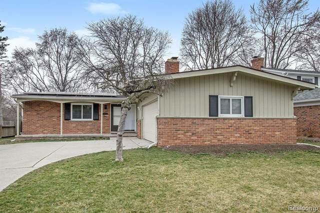 1473 Pine Valley Boulevard, Ann Arbor, MI 48104 (MLS #R2210048617) :: Berkshire Hathaway HomeServices Snyder & Company, Realtors®