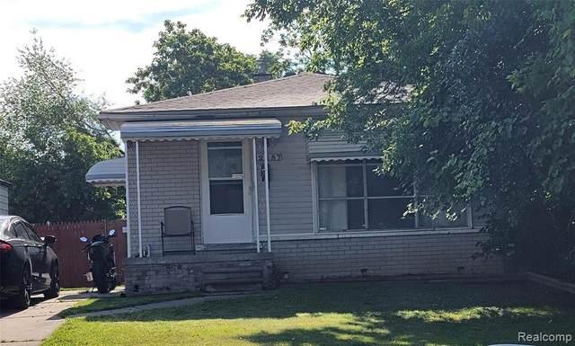 2357 Isabelle Street, Inkster, MI 48141 (MLS #R2210047509) :: Berkshire Hathaway HomeServices Snyder & Company, Realtors®