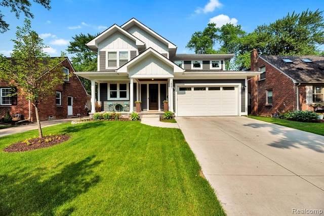 1521 N Pleasant Street, Royal Oak, MI 48067 (MLS #R2210056323) :: Berkshire Hathaway HomeServices Snyder & Company, Realtors®