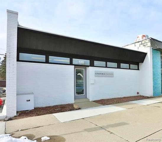 518 S Main Street, Clawson, MI 48017 (MLS #R2210054379) :: Berkshire Hathaway HomeServices Snyder & Company, Realtors®