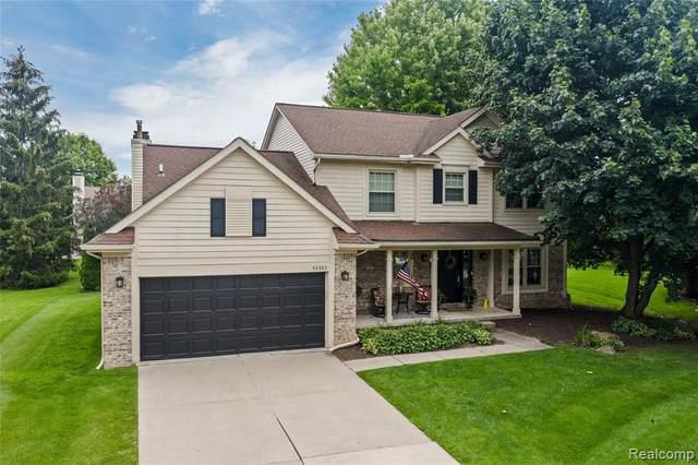 42683 Wimbleton Way, Novi, MI 48377 (MLS #R2210061240) :: Berkshire Hathaway HomeServices Snyder & Company, Realtors®