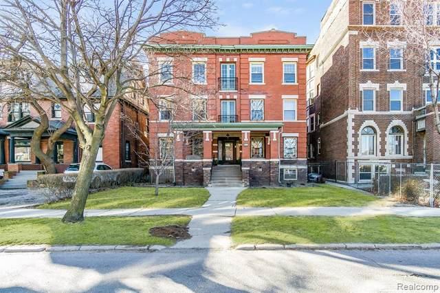 469 W Willis St Apt 7, Detroit, MI 48201 (MLS #R2210059447) :: Berkshire Hathaway HomeServices Snyder & Company, Realtors®