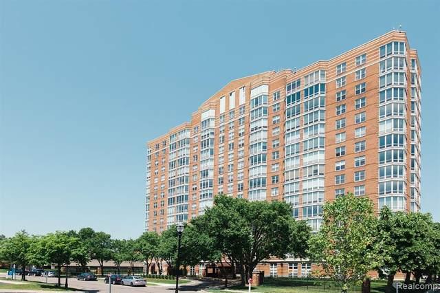 250 E Harbortown Dr #604, Detroit, MI 48207 (MLS #R2210061304) :: Berkshire Hathaway HomeServices Snyder & Company, Realtors®
