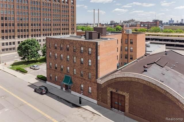629 W Milwaukee Street, Detroit, MI 48202 (MLS #R2210062713) :: Berkshire Hathaway HomeServices Snyder & Company, Realtors®