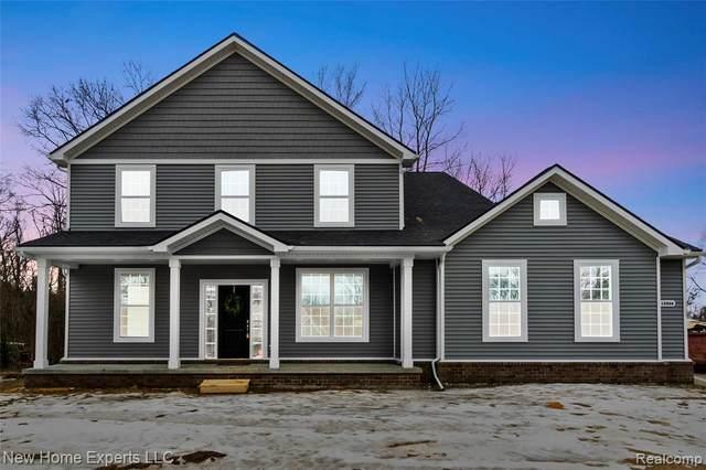 9696 Wall Gene Road, South Lyon, MI 48178 (MLS #R2210057354) :: Berkshire Hathaway HomeServices Snyder & Company, Realtors®