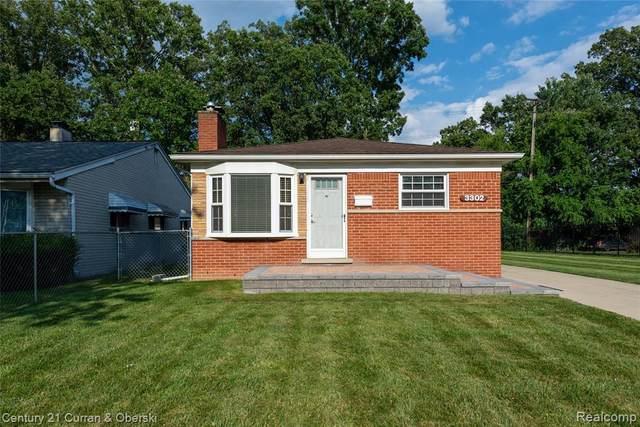 3302 Harvard Road, Royal Oak, MI 48073 (MLS #R2210062513) :: Berkshire Hathaway HomeServices Snyder & Company, Realtors®