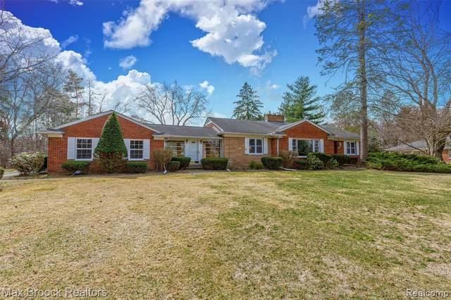 5400 Longmeadow Road Road, Bloomfield Hills, MI 48304 (MLS #R2210065093) :: Berkshire Hathaway HomeServices Snyder & Company, Realtors®