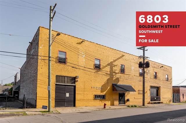 6803 Goldsmith, Detroit, MI 48209 (MLS #R2210068706) :: Berkshire Hathaway HomeServices Snyder & Company, Realtors®