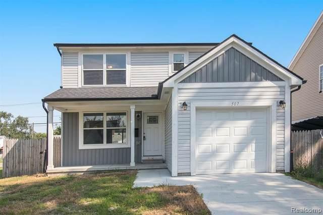 507 E Muir Avenue, Hazel Park, MI 48030 (MLS #R2210068038) :: Berkshire Hathaway HomeServices Snyder & Company, Realtors®