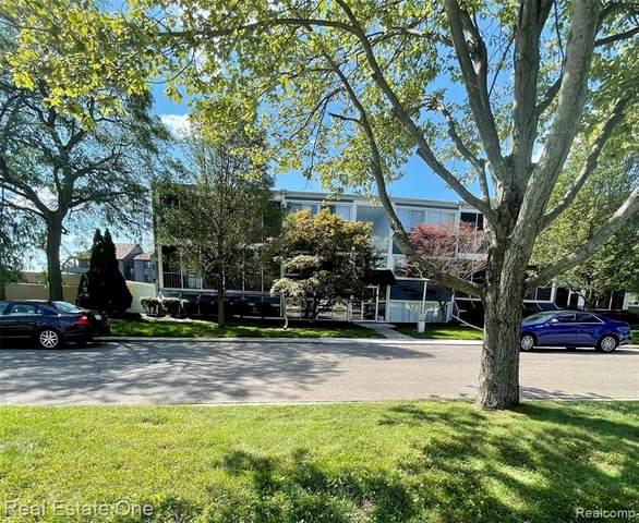 2419 Riverside Dr Apt 101 #101, Trenton, MI 48183 (MLS #R2210074285) :: Berkshire Hathaway HomeServices Snyder & Company, Realtors®