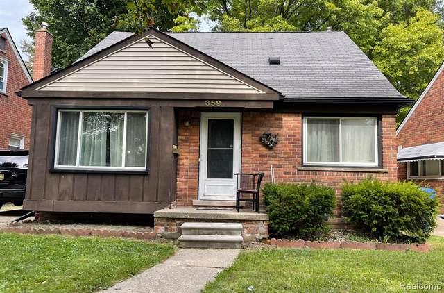 359 Amherst Street, Inkster, MI 48141 (MLS #R2210074853) :: Berkshire Hathaway HomeServices Snyder & Company, Realtors®