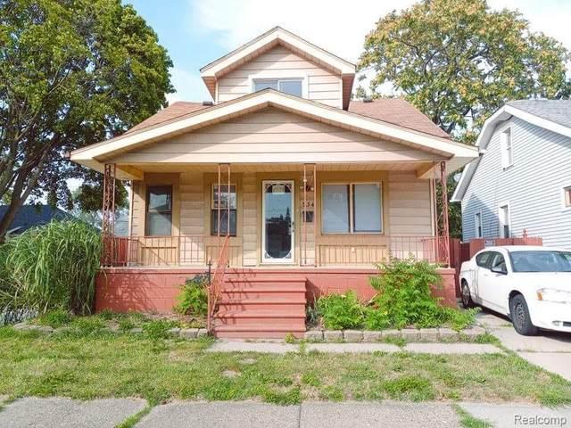 934 White Avenue E, Lincoln Park, MI 48146 (MLS #R2210069149) :: Berkshire Hathaway HomeServices Snyder & Company, Realtors®