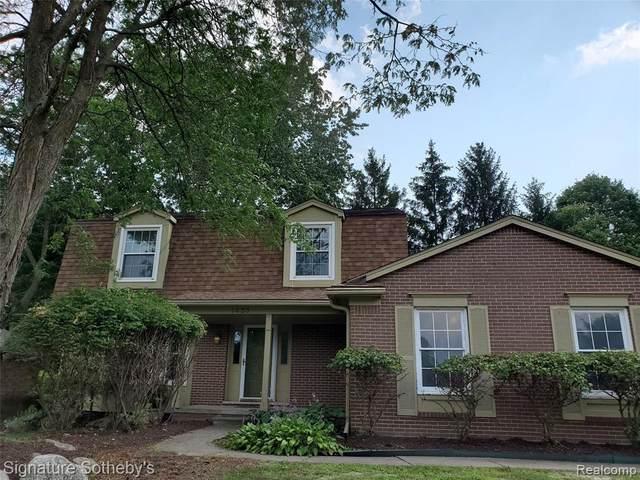 1433 Fountain Drive, Troy, MI 48098 (MLS #R2210075464) :: Berkshire Hathaway HomeServices Snyder & Company, Realtors®