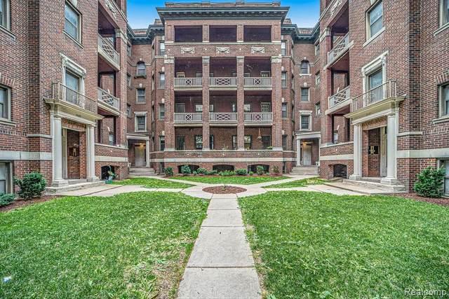 7409 2nd Ave E4, Detroit, MI 48202 (MLS #R2210072670) :: Berkshire Hathaway HomeServices Snyder & Company, Realtors®