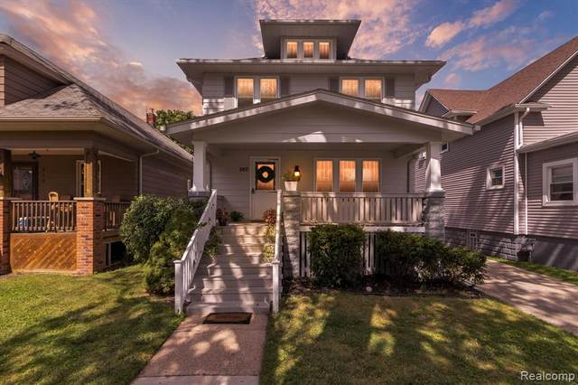560 Elm Street, Wyandotte, MI 48192 (MLS #R2210074168) :: Berkshire Hathaway HomeServices Snyder & Company, Realtors®