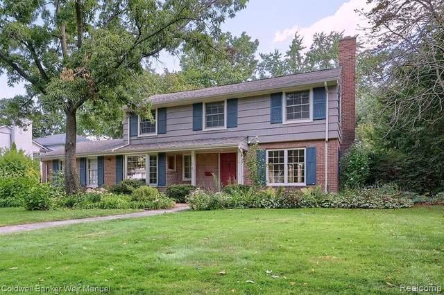312 Hupp Cross Road, Bloomfield Hills, MI 48301 (MLS #R2210075742) :: Berkshire Hathaway HomeServices Snyder & Company, Realtors®