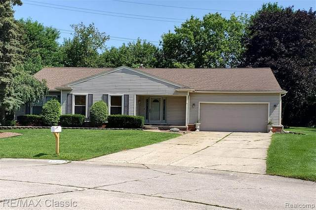 41900 Baintree Circle, Northville, MI 48168 (MLS #R2210075759) :: Berkshire Hathaway HomeServices Snyder & Company, Realtors®