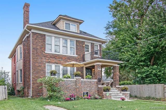 2297 Lothrop Street, Detroit, MI 48206 (MLS #R2210074964) :: Berkshire Hathaway HomeServices Snyder & Company, Realtors®