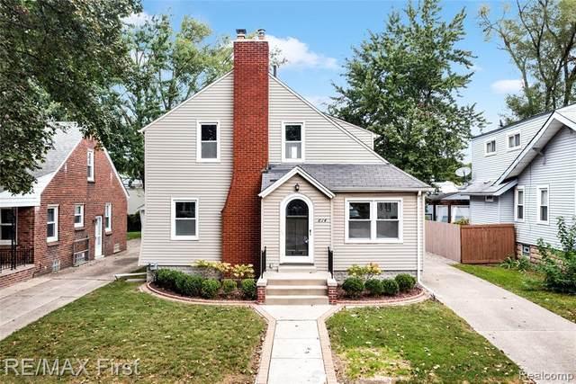 614 W Troy Street W, Ferndale, MI 48220 (MLS #R2210075702) :: Berkshire Hathaway HomeServices Snyder & Company, Realtors®