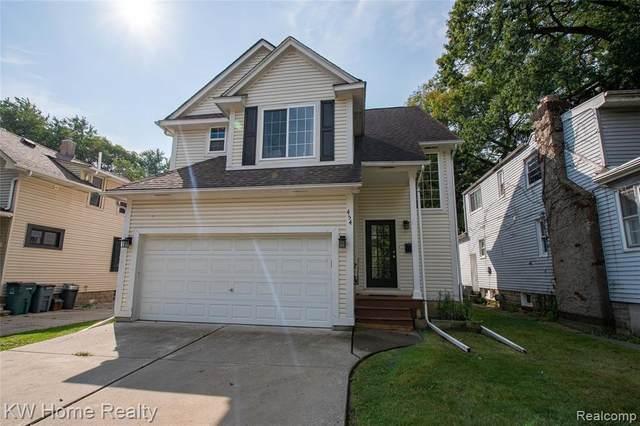 454 E Cambourne Street, Ferndale, MI 48220 (MLS #R2210073837) :: Berkshire Hathaway HomeServices Snyder & Company, Realtors®