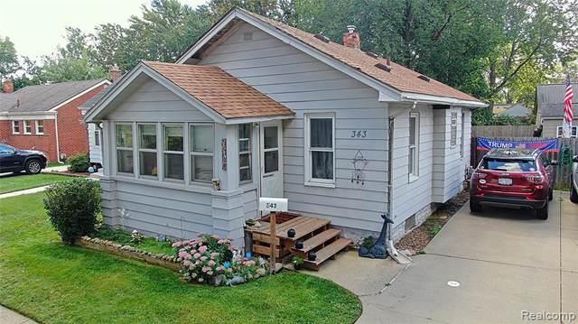 343 Chippewa Street, Clawson, MI 48017 (MLS #R2210078289) :: Berkshire Hathaway HomeServices Snyder & Company, Realtors®