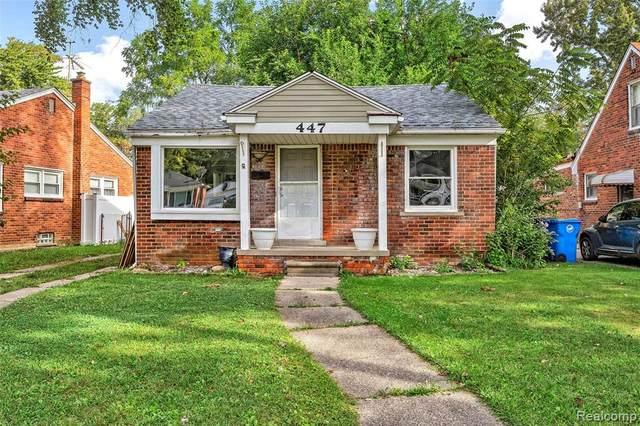 447 Brentwood Street, Inkster, MI 48141 (MLS #R2210077268) :: Berkshire Hathaway HomeServices Snyder & Company, Realtors®