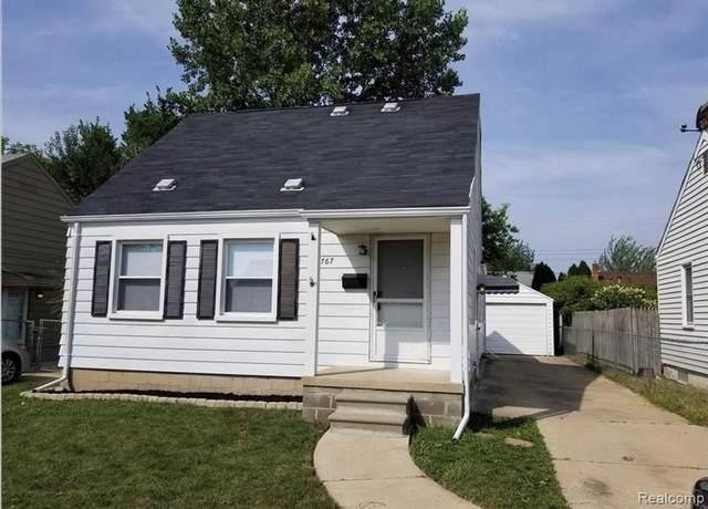 21767 Normandy Avenue, Eastpointe, MI 48021 (MLS #R2210078851) :: Berkshire Hathaway HomeServices Snyder & Company, Realtors®