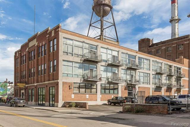 55 W Canfield St. #307, Detroit, MI 48201 (MLS #R2210079612) :: Berkshire Hathaway HomeServices Snyder & Company, Realtors®